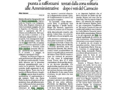 Gazzettino : Accordo PD – NCD
