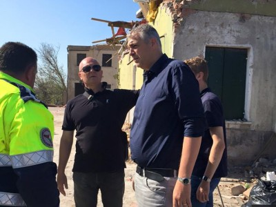 Veneto: Tornado 8 luglio 2015 Riviera del Brenta