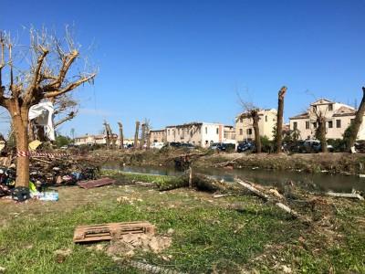 Mozione per impegnare il Governo a risarcire le famiglie e le imprese venete colpite dal tornado l'8 luglio
