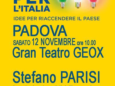 """""""MEGAWATT- ENERGIE PER IL PAESE"""" Padova sabato 12 Novembre ore 10:00"""