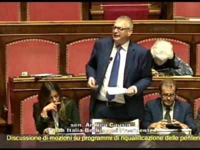 Il mio intervento in Senato sul voto di scambio e sugli ultimi fatti accaduti in Veneto