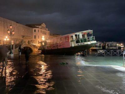 Mozione per stato calamità Venezia